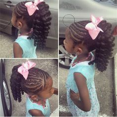 A collection of braided hairstyles for girls of all ages.