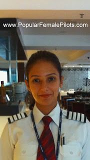 www.PopularFemalePilots.com  Most Popular Female Pilots of the World: Capt Ishita Bhatia