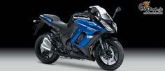 Die Kawasaki Z1000SX für 2016 in blauer Lackierung