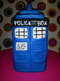 Dr. Who cake topper :)