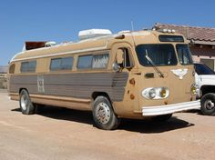 Flxible Flxible 1952 For Sale. The interior is not a particularly exciting rv conversion but the exterior looks cool ad the route sign is still there,