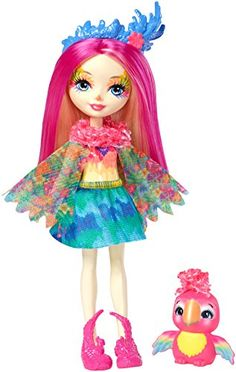 Enchantimals Tanzie Tiger Doll and Tuft Figure Playset, Multi-Colour, One Size Bratz Doll, Doll Toys, Toys For Girls, Kids Toys, Girls Nail Designs, Bloom Winx Club, Cute Tigers, Toys Uk, Mattel