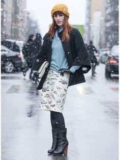 Milan Fashion Week Fall 2013 Street Style