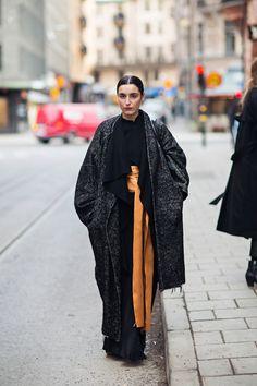 Stockholm Street Style at Stockholm Fashion Week