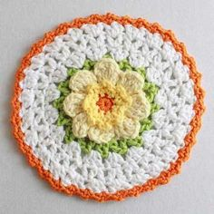 "Watch Maggie review this beautiful Floral Bouquet of Dishcloths Set! Crochet Design by: Maggie Weldon Skill Level: Easy Size: Each dishcloth is 8-10"" diameter. Materials: Yarn Needle; Worsted Weight C"