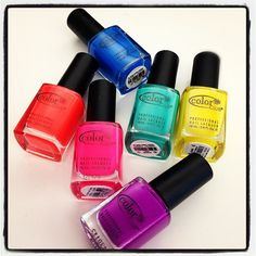 """""""Loving the new @colorclubnail neon shades available on #birchbox. #bbdesktweets"""" $8.00 http://birch.ly/xsxFoX"""
