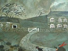Home is the nicest word there is. British Artist, Contemporary Artists, Image, Illustration Art, Naive Illustration, Art, Dark Art Drawings, Blunt Art, Art History