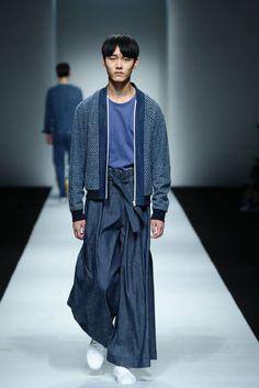 Hiuman Spring Summer 2016 Primavera Verano - Shanghai Fashion Week | #Menswear #Trends #Tendencias #Moda Hombre M.F.T.