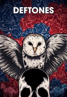 Deftones - Illustrated Poster