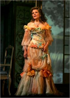 Reason no. 25 to become a big time opera diva: People like Chrisitan Lacroix design your costumes.