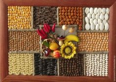 ДЛЯ ДОМА - handmade Diy Arts And Crafts, Fall Crafts, Seed Art, Resin Table, Plastic Flowers, How To Preserve Flowers, Country Crafts, Clay Miniatures, Fruit Art