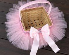 Cesta de Pascua de Princess Tutu, Tutu cesta, cesta de la muchacha de flor, canasta de Pascua