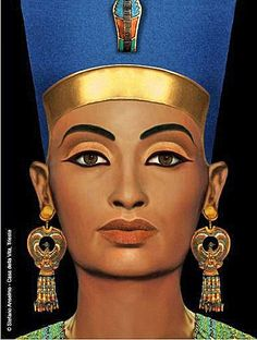 One of the most beautiful statues - Queen Nefertiti
