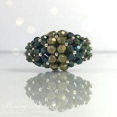 How to create an easy to make beaded bead