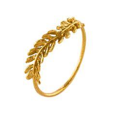 Honey Fern Ring