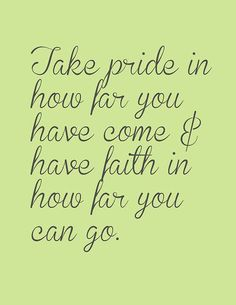 Have faith in how far you can go!  #addictionrecovery #inspiration