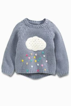 """Buy Blue Cloud Jumper (3mths-6yrs) from the Next UK online shop [ """"2016 New Girls Baby Sweater little princess Cartoon clouds rain rainbow pullover sweater wholesale"""", """"Buy Blue Cloud Jumper online today at Next: United States of…"""", """"Pepes new one"""" ] # # #Baby #Sweaters, # #Pullover #Sweaters, # #Jumper, # #Baby #Girl #Fashion, # #New #Girl, # #Little #Princess, # #Baby #Girls, # #Clouds, # #Rainbows"""