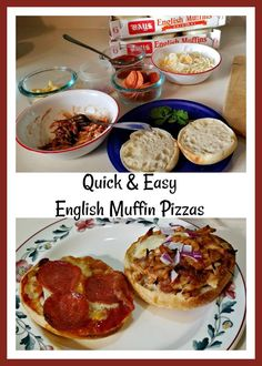 Learn how easy it is to make English muffin pizzas with Bay's English Muffins and a few ingredients. Perfect for the kids to make! Pizza Recipes, Easy Dinner Recipes, New Recipes, Favorite Recipes, Bays English Muffins, English Muffin Pizza, Pizza Muffins, How To Make Pizza, Recipe Boards