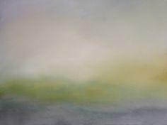 Koen Lybaert - Green Naze Wyke [Landscape N°081] - oil on canvas [60 x 80 x 2] / 2014