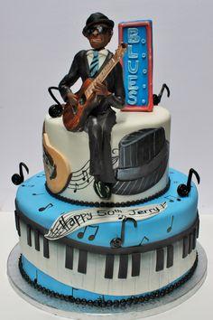 Blues cake