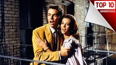 """Natalie Wood and George Chakiris in """"West Side Story"""" 1961 Tony West Side Story, West Side Story Cast, Maria West Side Story, West Side Story Movie, West Side Story 1961, West Side Story Broadway, Martin Scorsese, Martin Luther, Rita Moreno"""