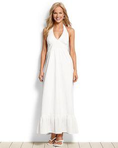 Louella Lawn Halter Maxi Dress