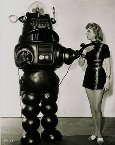 """Robby the Robot #1    1956 """"Forbidden Planet"""" Robby the Robot"""