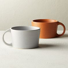 Percolate Mugs | CB2 Cat Coffee Mug, Unique Coffee Mugs, Coffee Cups, Enamel Teapot, Grey Mugs, Mug Art, Black Clay, Tea Tins