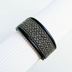 Scandinavian Leather Armband Swedish bracelet Sami Viking Armband