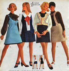 Mini Skirt Sears Catalog | Mini Skirt Monday #181: Catalog Minis
