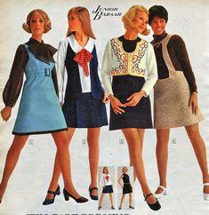 Mini Skirt Sears Catalog | Mini Skirt Monday #181: Catalog Minis
