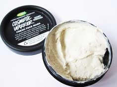 LUSH Cosmetic Warrior Fresh Face Mask. Amazing. I've been using this 1-2 times a week for the past month before I go to bed, and my skin is almost 100% cleared up! It's much softer, brighter, and completely clears all the impurities from my pores to prevent potential breakouts. Perfect for combination skin, and only about $7. Miracle/holy grail product!