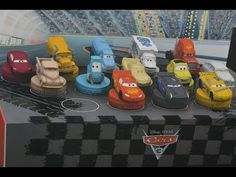 Kinder Lego Fan: Autá 3 Pečiatky Billa Cars 3
