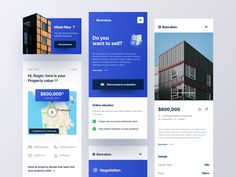 Bancakan - Mobile Valuation Page by Risang Kuncoro for Plainthing Studio on Dribbble Sell Property, Property Values, Property Listing, Page Design, Web Design, Graphic Design, Directory Design, Job Opening, Mobile Design