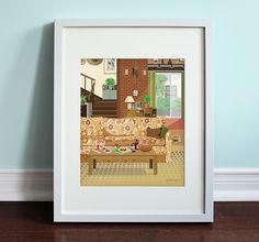 The Bundys Living Room  Married... with by BeautifulPeaceShop