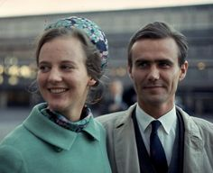 Queen Margrethe of Denmark and Prince Henrik