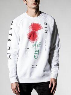4e53e3244de0 Floriography Crew Sweater Graphic Sweatshirt