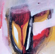 Esencia.  Lo que está en el fondo, lo que identifica, lo que conmueve. 15x15 Pigmento, resina / papel 2016