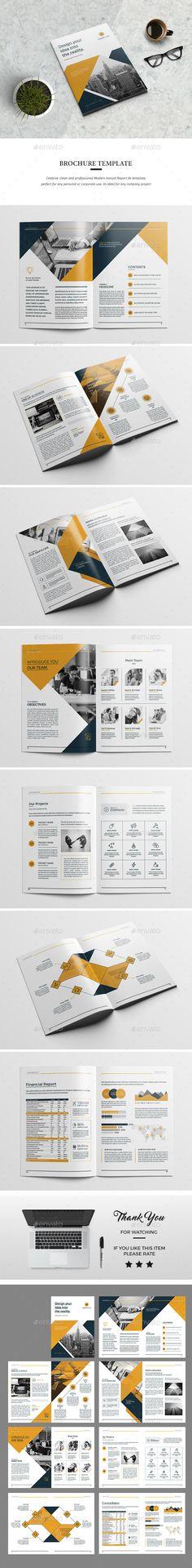 #Brochure - Corporate Brochures Download here: https://graphicriver.net/item/brochure/19310866?ref=alena994