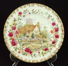 Royal Albert Old Country Roses Four Seasons SUMMER Plate 1st Quality VGC 3d8678bef5