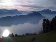 Rigi, Lake Lucerne, Switzerland