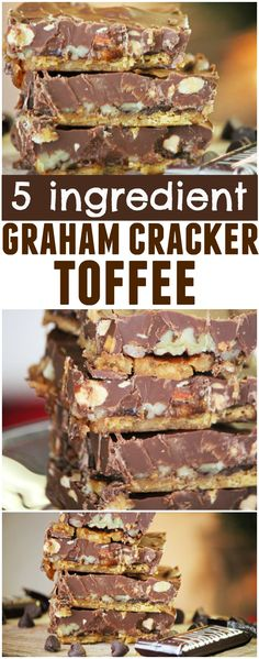"""I'm sure you've all seen, and probably tried, the Pinterest-made-famous  """"Christmas Crack"""". But just in case you haven't, this post is for you! I  had seen this recipe floating around Pinterest for several years, always  made with Saltine Crackers, but never got around to making it. A f"""