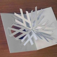 DIY Volkswagen Christmas Card for your friends with VW Cars. Yes, isn't this creative? The logo itself is the snow flakes. I wish they showed us the step b