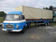 Písať nový e-mail - Mini Trucks, Old Trucks, Classic Trucks, Classic Cars, East German Car, Semi Trailer Truck, Busses, Commercial Vehicle, Vintage Trucks