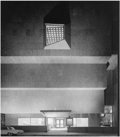 Whitney Museum, Marcel Breuer, New York, NY, 1966 Ezra Stoller