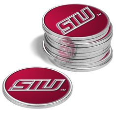 Southern Illinois Salukis 12 Pack Ball Markers