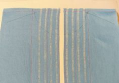 Apply Hemstitching to a Garment - Threads. This shows how to prep the fabric, not how to do the hemstitching.