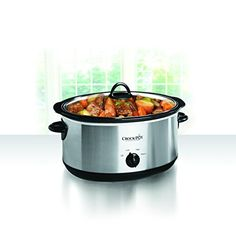 Crockpot SCV803SS 8 quart Manual Slow Cooker with 16 oz Little Dipper Food Warmer Stainless Steel *** Check this awesome product by going to the link at the image-affiliate link.
