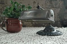 Vintage Ornate Library Piano Bankers Brass Lamp, Art Deco, 1920s by territoryhardgoods, $96.00