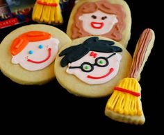 "Harry Potter Decorated Cookies | 46 ""Harry Potter""-Inspired Treats You Should Be Making"